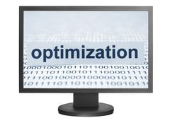 optimization - stock photo