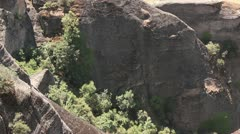 Meteora valley Stock Footage