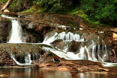 Oconi Waterfall, - stock photo