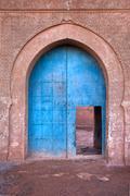 old arabian door - stock photo