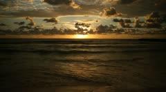 Golden Sunrise 04 Stock Footage