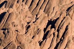 strange rock formation - stock photo