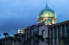 islamic architecture - stock photo