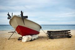 Fishing boat. Stock Photos