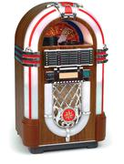 juke box on white - stock photo