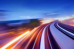 speedway. - stock photo