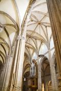 alcalá de henares cathedral (spain) - stock photo