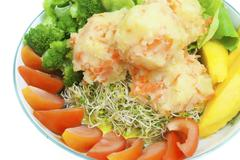 Potato salad. Stock Photos