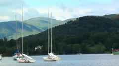 PASSING BOATS Stock Footage