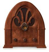 gothic radio orthographic - stock photo