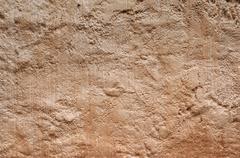 ancient stucco texturee - stock photo