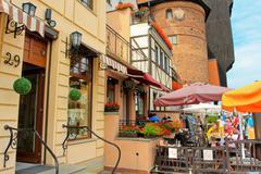 Gdansk, Poland old town Stock Photos