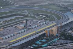Homestead Miami Speedway - stock photo