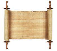 scrolls - stock photo