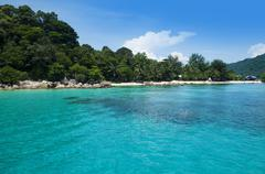 Perhentian island. Stock Photos