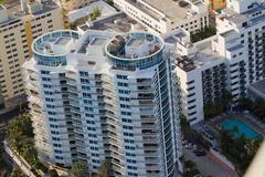 Miami Beach appartments - stock photo