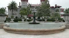 St. Augustine City Hall and Lightner Museum in Florida, USA - stock footage