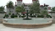 St. Augustine City Hall and Lightner Museum in Florida, USA Stock Footage