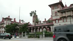 St. Augustine Flagler College of the Liberal Arts, Florida, USA Stock Footage