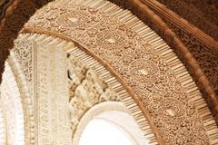 Arabic style arch Stock Photos