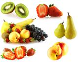 Stock Photo of various of fresh jiucy fruits