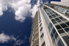 Modern condominium. Stock Photos