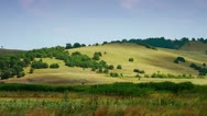 Rolling hills scenery timelapse Stock Footage