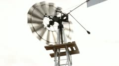 Windmill Close-Up Stock Footage