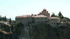 The Holy Monastery of St. Stephen Stock Footage
