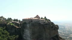 The Holy Monastery of St. Stephen _1 Stock Footage