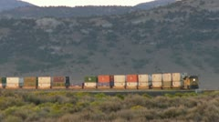 Distant Train Stock Footage