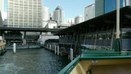 Stock Video Footage of Circular Quay Dock