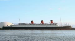 RMS Queen Mary - stock footage