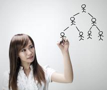 people network - stock photo