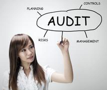 Audit plan Stock Photos
