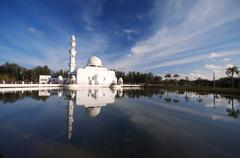 mosque malaysia - stock photo