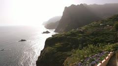Northern coastal region, Madeira Stock Footage