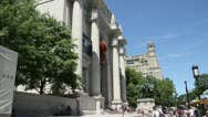 Stock Video Footage of American Museum of Natural History in New York