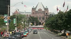 Toronto Legislative building Stock Footage