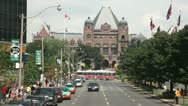 Stock Video Footage of Toronto Legislative building
