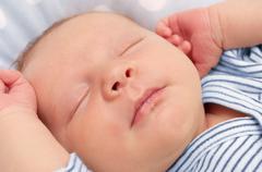 Stock Photo of newborn baby