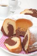 Stock Photo of marble cake