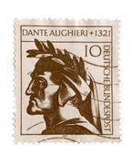 dante - stock photo