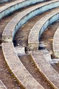 Empty amphitheater Stock Photos