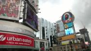 Stock Video Footage of Toronto Eaton Centre