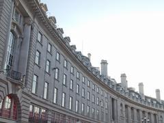 regents street, london - stock photo