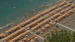 Positano (10),  Amalfi Coast, Italy Stock Footage