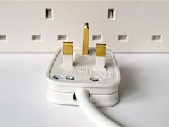 Stock Photo of british plug