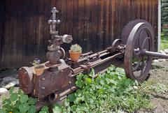 Old Rusty Machine - stock photo
