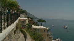 Positano (8),  Amalfi Coast, Italy Stock Footage
